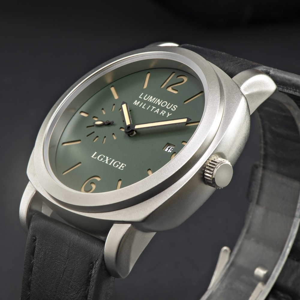 Men Watches Top Brand Luxury Leather Strap Sports Green Army Military Quartz Watch Men Wrist Watch Clock Men's relogio masculino