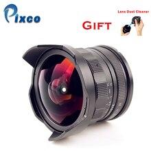 APS C CL Mil7528N 7.5mm f2.8 피쉬 아이 와이드 앵글 렌즈 슈트 fujifilm fx nex micro 4/3 e. os m + 렌즈 더스트 클리너 포함