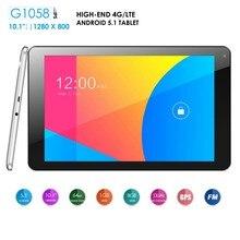 AZPEN G1058 10.1 Дюймов Quad Core Таблетки 5 Баллов Емкостный Стекло 1 Г RAM 8 ГБ ROM 800×1280 IPS Tablet PC G1058
