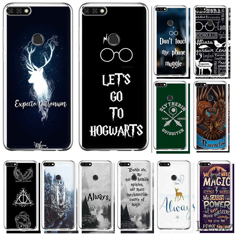 <font><b>HarryPotter</b></font> Dynamic Phone Case Cover For Huawei Honor 6A 7A 7C 6C 7X Pro 8 8X 9 10 Lite Play image