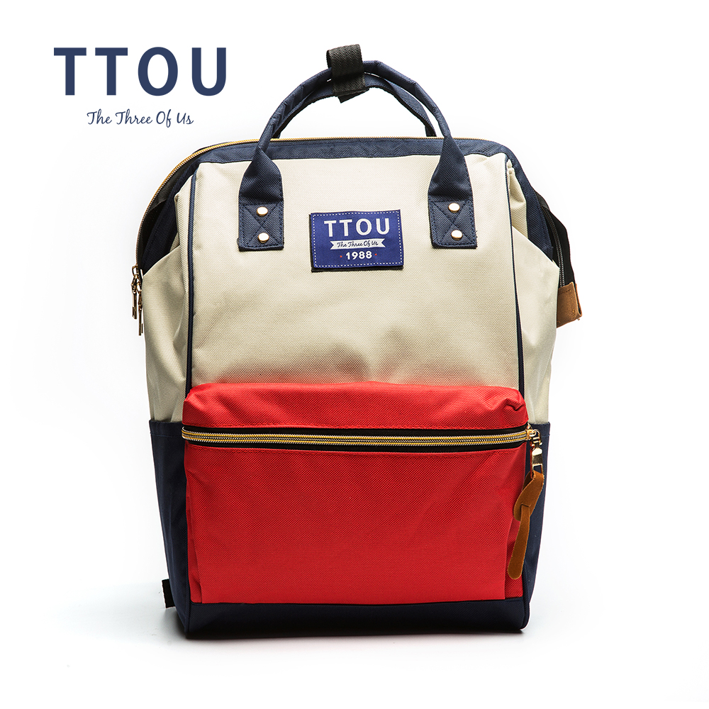 TTOU Luxury Famous Brand Teenager Canvas Backpacks For Girl Backpack Travel Bag Women Large Capacity Brand Bags For Girls go meetting fashion women waterproof oxford backpack famous designers brand shoulder bag leisure travel backpacks for girl