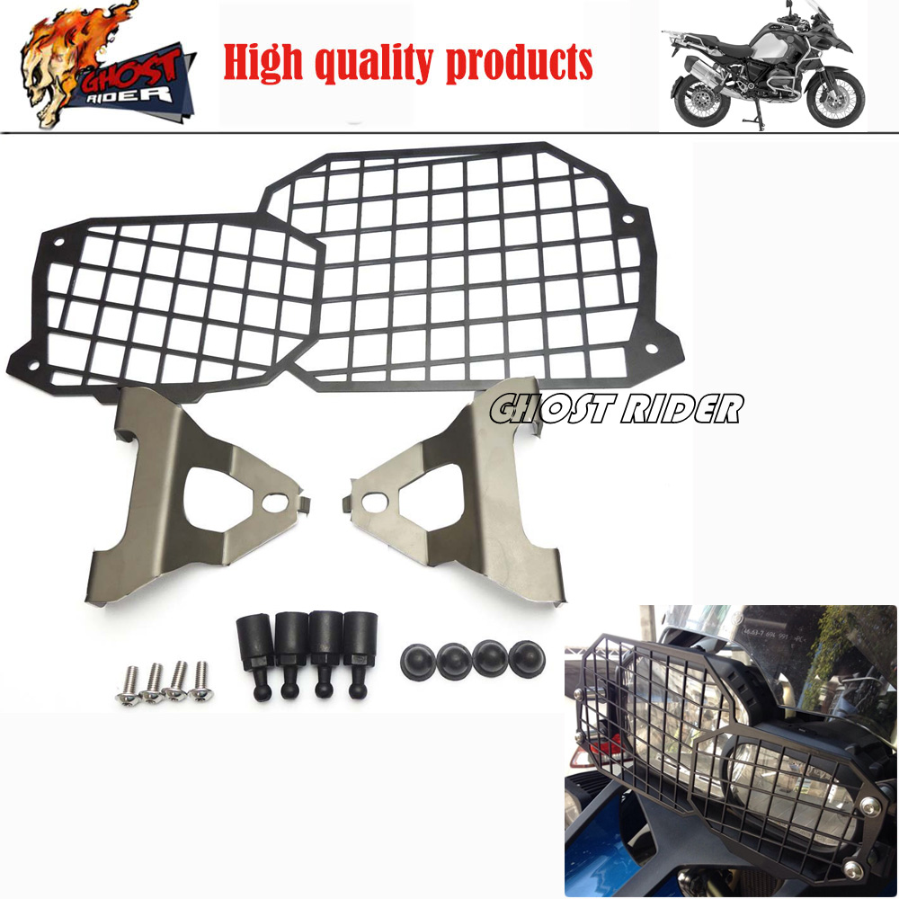 High Quality Stainless Steel Motorcycle Headlight Guard Protector For BMW F650GS F700GS F800GS GS Adventure 2008