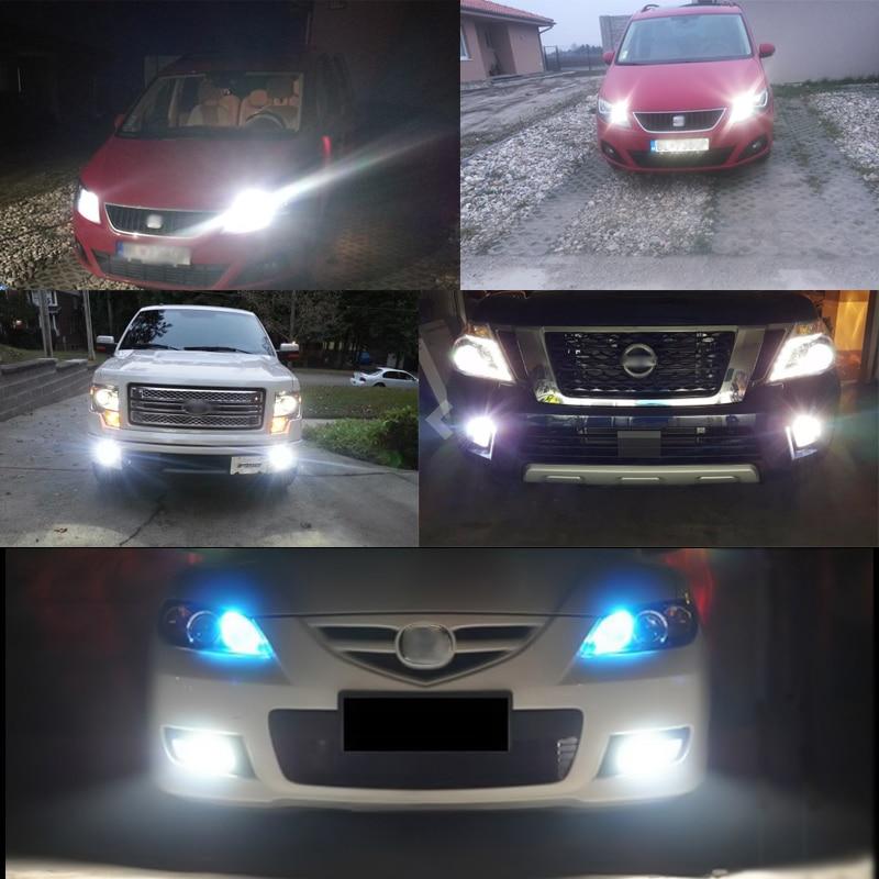 2 * LED žarnica H11 H8 Canbus brez napake z ostrimi žetoni LED - Avtomobilske luči - Fotografija 5