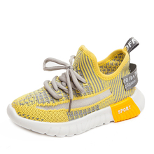 SKHEK 2019 new spring breathable and comfortable mesh shoes childrens sports Sneakers Boys Girls Running Shoes