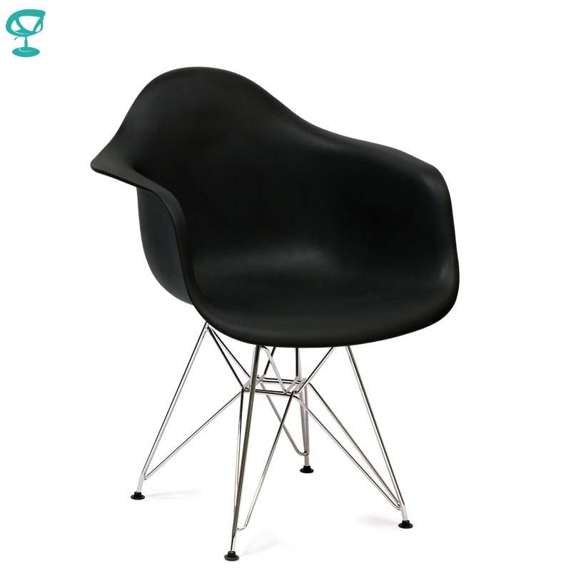 94914 Barneo N-14-14 Plastic Kitchen Breakfast Interior Stool Bar Chair Kitchen Furniture Black Free Shipping In Russia