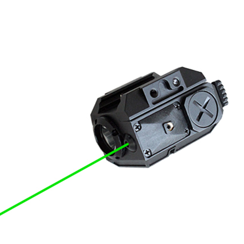 цена Drop shipping Green laser sight with LED weapon light combo for gun
