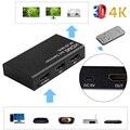 Компьютерные Аксессуары МХЛ/HDMI Двойной Режим 3in 1out Switcher 4 К x 2 К Адаптер с ИК-Пульт Дистанционного Управления для HDTV 1080 P