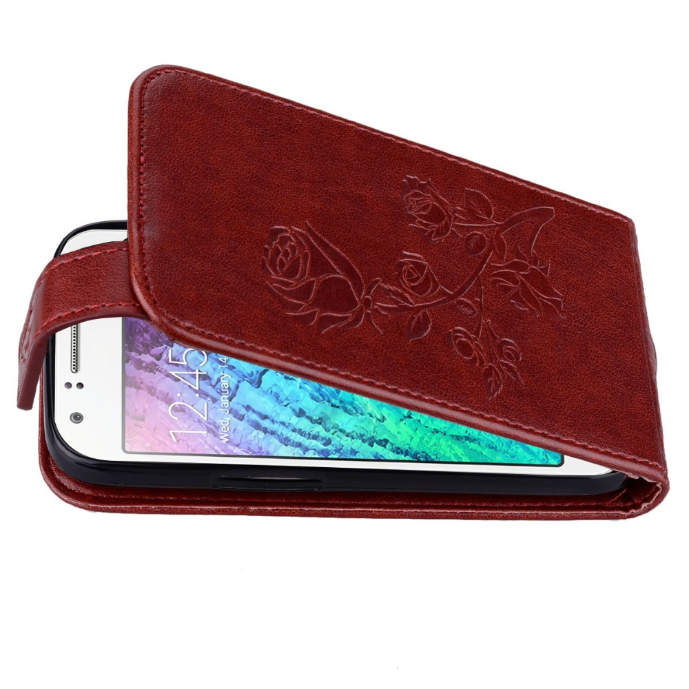 Konfurer Magnetic Flip Luxury Leather Phone Case For Samsung Galaxy J1 MINI Light Weight Ultra Thin Cover Case Holster Bag