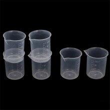 Товары для дома Лидер продаж 100 мл окончил стакан ясно пластик Мерный стакан Прямая 0519
