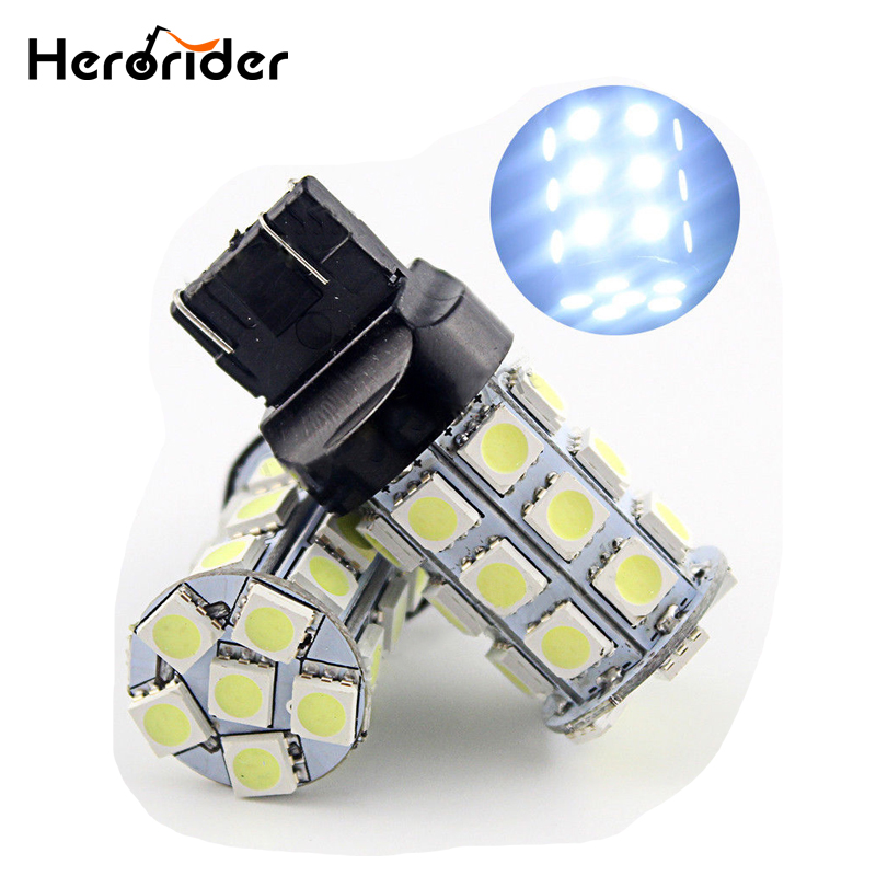 <font><b>T20</b></font> W21/5W 7443 W21W 7440 WY21W 27 5050 SMD <font><b>LED</b></font> Pure White Auto Car Brake Turn Stop <font><b>Rear</b></font> Light <font><b>Bulb</b></font> Lamp DC12V Red image
