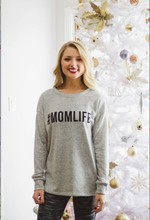 woman hoodies sweatshirts ladies autumn winter new clothing print letter mom life classics fashion sweat shirts