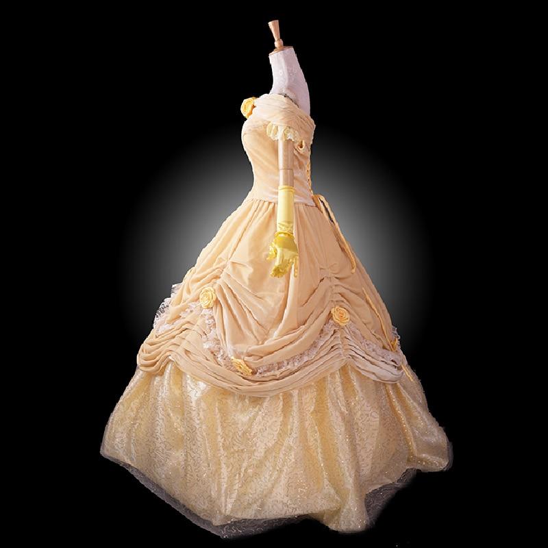 մեծահասակ արքայադուստր բել - Կարնավալային հագուստները - Լուսանկար 3