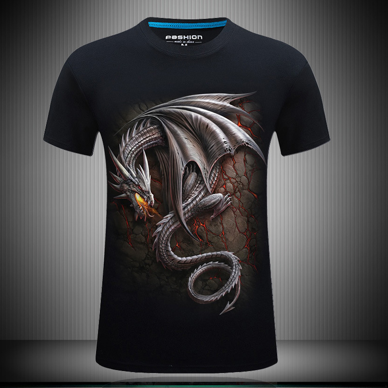 Leopard Print T Shirt Men 5XL 6XL Plus Size 3D Animal T-shirts Men 2016 Summer Style Brand Fashion Hiphop Tee Shirt Homme