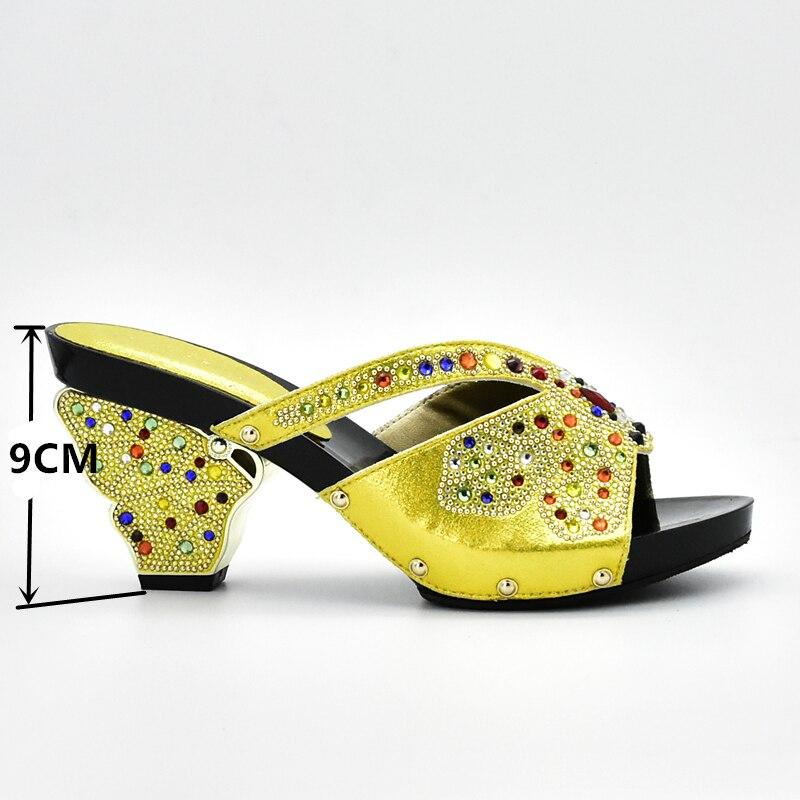 Noir Africain Italie Haute Fête En Ensemble jaune La Et vert Femmes Ensembles Chaussure 2017 Mis argent Chaussures Qualité Noir Pour Couleur Sac pourpre qwAZx4UX4
