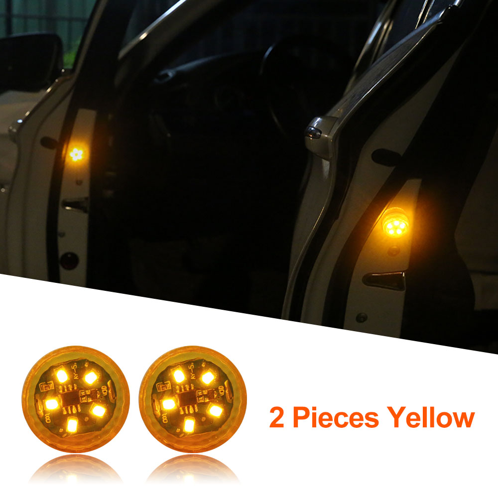 Yellow x 2 Lights