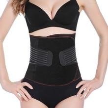 Фотография Women slimming belt belly corsets hot body shapers waist trainer fat burner adjustable abdomen tummy control girdle shapewear
