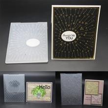 AZSG 2019 New Arrival 3D Creative Embossing plates Design DIY Paper Cutting Dies Scrapbooking Plastic Folder