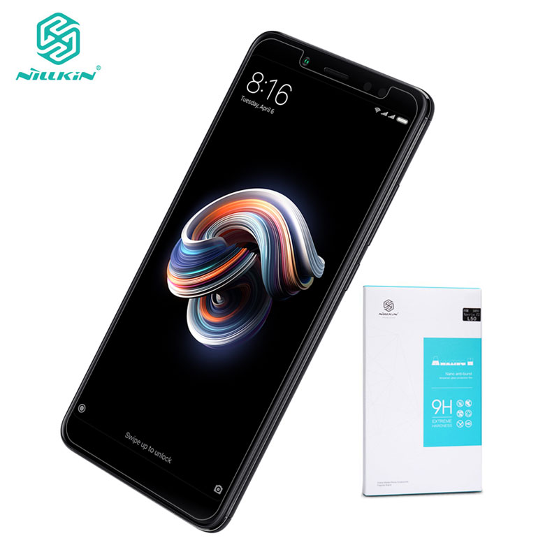 Nillkin Xiaomi Redmi Note 5 Tempered Glass Amazing H Screen Protector Glass For Xiaomi Redmi Note 5 Pro Global Version