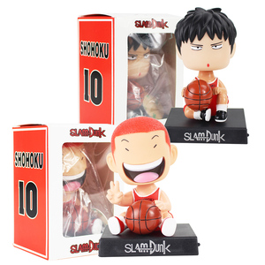 SLAM DUNK Phone Holder Figures Shohoku Basketball Hanamichi Rukawa Kaede Sakuragi Player Anime Model Toys Car Decorations(China)