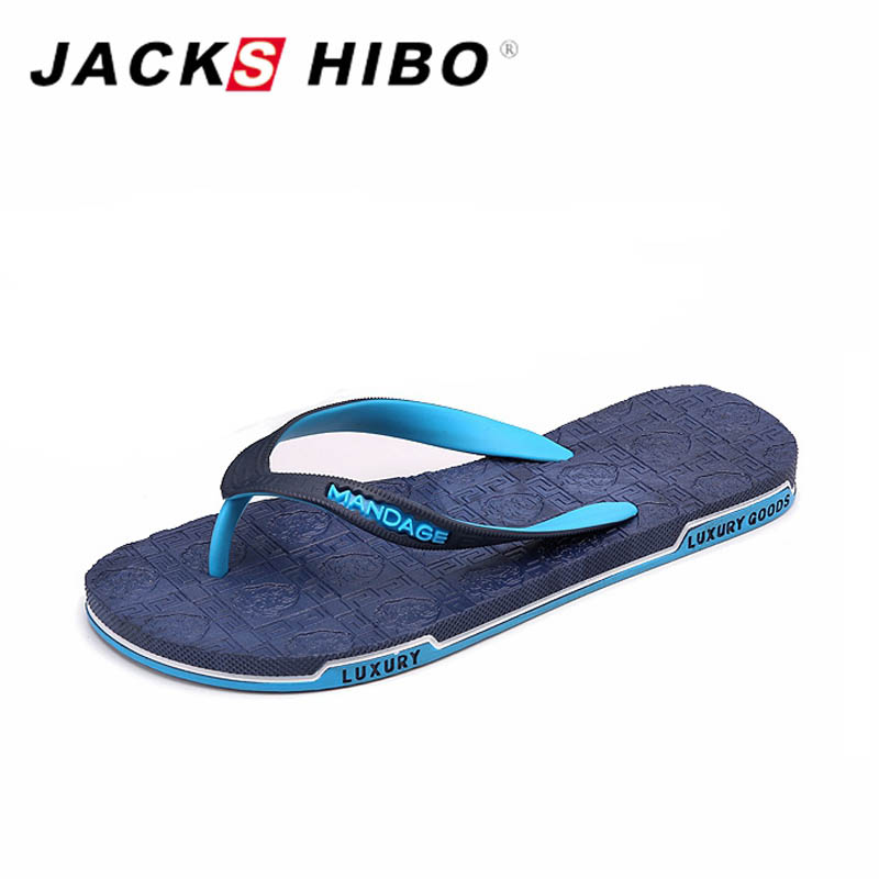 JACKSHIBO Summer Men's Flip Flops Simple Design Light Beach Slippers casual Fashion Men Flat Flip-flops sandalias hombre 7.5-9.5 bl1830 tool accessory electric drill li ion battery 18v 3000mah for makita 194205 3 194309 1 lxt400 18v 3 0ah power tool parts page 8