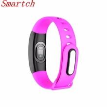 Smartch V8 смарт-браслет Приборы для измерения артериального давления SMS уведомлений Шагомер сна Мониторы ing смарт-браслет сердечного ритма Мониторы SmartBand