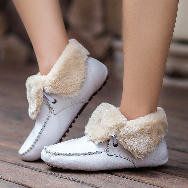 De La Chance 2016 New Winter Women Boots Thick Fur Very Warm ...