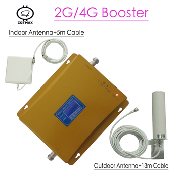 2g 4g repeater 850 1800 4G LTE Repeater CDMA 850MHz 1800MHz Mobile cell phone signal  Booster amplifier