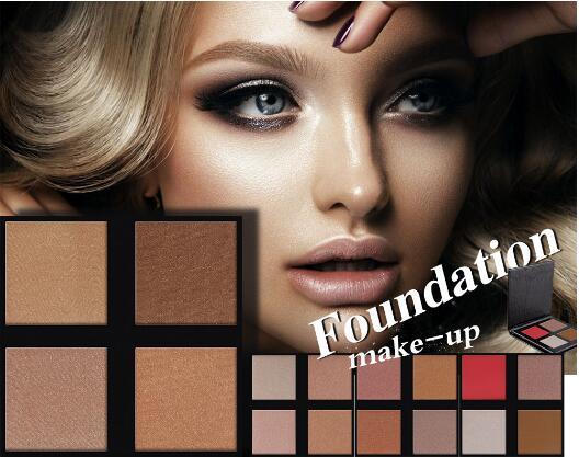 Ew Marke Glänzende Bronzer Highlighter Pulver Matte Glitter Gesicht Make-Up Compact Contour Palette Gloden Glow Kit
