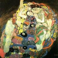 Китай ведущим поставщиком цена оптовой продажи поставка высокое качество абстрактный впечатление Густав Климт девственниц картина маслом