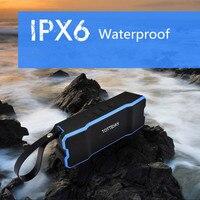 IPX6 Bluetooth Speakers Waterproof Shockproof Dustyproof Outdoor Wireless Subwoofer Loudspeaker Built In 4500mA Stereo Soundbox
