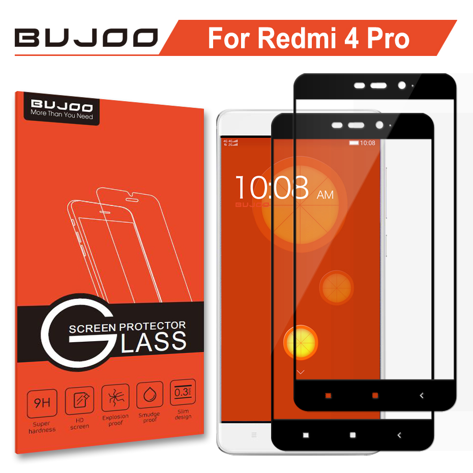 Cafele Hd Clear Tempered Glass For Xiaomi Redmi 4 4pro 4x Ultra Thin Original Note 5 2 Pack 100 Bujoo 25d 03mm 9h Full Cover Screen Protector