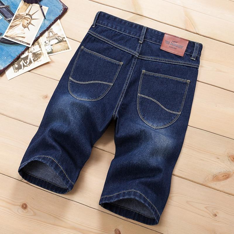 Pantallona të shkurtra xhins QINSIR pantallona xhins meshkuj, - Veshje për meshkuj - Foto 5