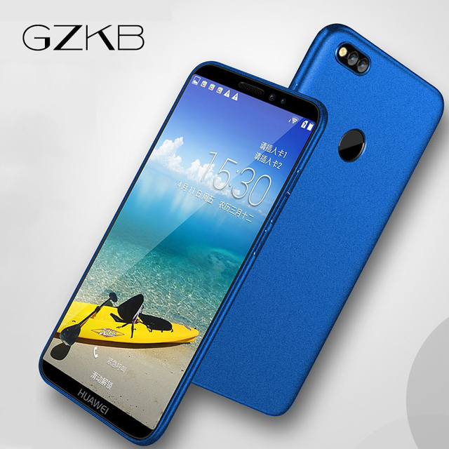 huge selection of 84ed9 5fc7c US $4.99  For Huawei Honor 7X Case Honor 7X Full Protection Frosted Soft  Silicone Cover For Huawei Honor 7X Cases Ultra Thin Tpu 5.93''-in Fitted ...