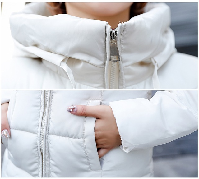 Plus Size 6XL Down Jassen 2019 Mode Vrouwen Winter Jas Lange Slanke Dikker Warme Jas Neer Katoen Gewatteerde Jas Uitloper parka