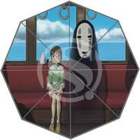Sıcak Özel Hayao Miyazaki boyama Güzel Serin Tasarım Taşınabilir Moda Şık Faydalı Katlanabilir Şemsiye Ücretsiz Kargo SQ0608