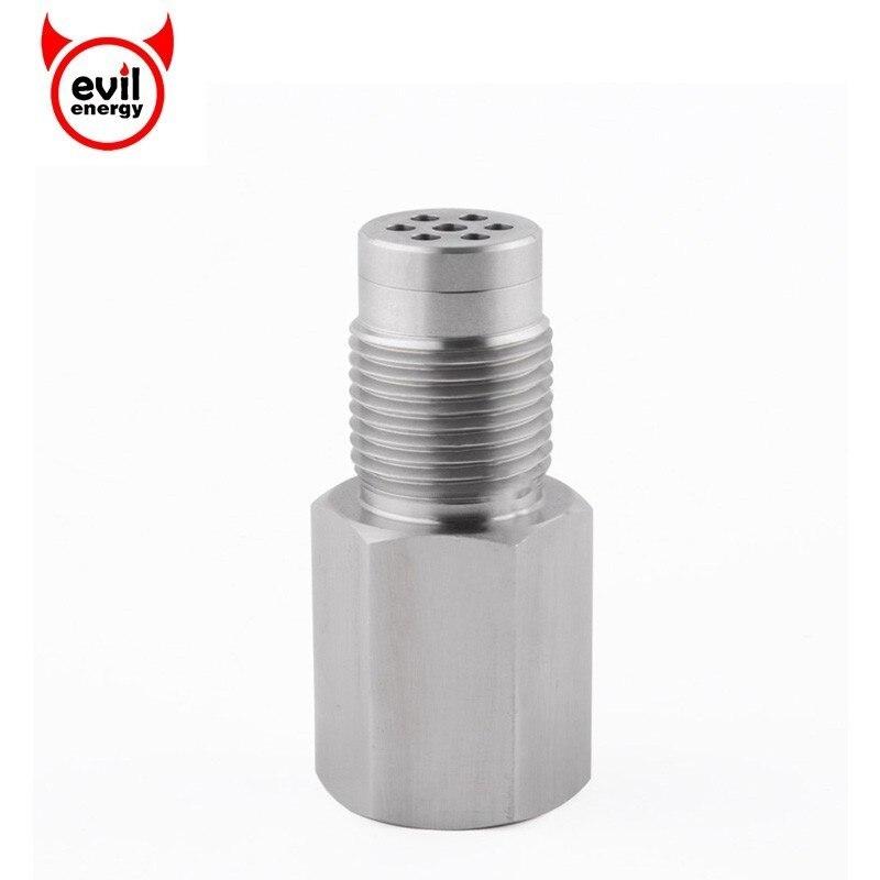 Universal Oxygen Sensor Extender Adapter Isolator Extender Lambda  Engine Light CEL Check Bung Contain Catalytic Converter
