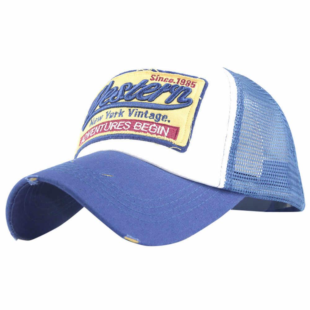 2019 البيسبول Hot البيع الرجال القبعات قبعة بيسبول قبعة الصيف النساء قبعة شبكة القبعات قبعات الرجال للنساء عادية الهيب هوب قبعة بيسبول s