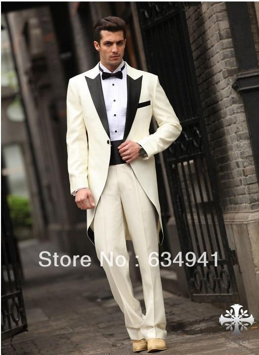 Custom western wedding long style groom tuxedos/italian men\'s ...