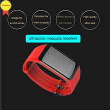 2019 new Ultrasonic Repellent physical Anti-mosquito Wristband for Adults Children women Outdoor Anti Mosquito Smart Bracelet