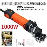 1000W 220V 6 Gears Speed Electric Sheep Goat Shearing Machine Trimmer Tool Wool Scissor Cut Machine With Box