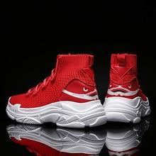 Giày sneaker Nam Giày Cho Nam Cá Mập Huấn Luyện Viên Người Yêu Cao Hàng Đầu Giày Sapatos Masculino Mùa Hè Thoáng Khí Chaussures Đổ Hommes