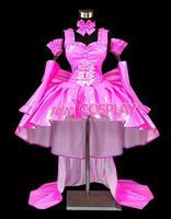 Hot Sale Custom Made Chobits Freya Chobits Dark Chii PVC Dress Cosplay Costume