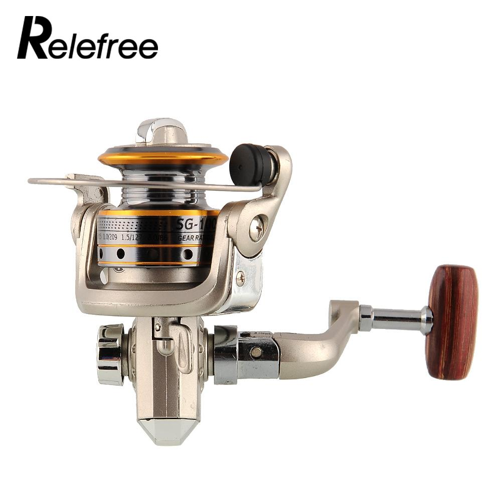 2013 New 6 BB High Power Gear Spinning Spool Aluminum Fishing Reel SG1000