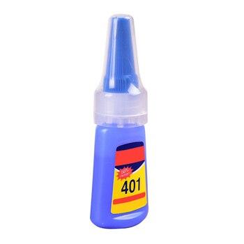 цена на 401 Rapid Fix Instant Fast Adhesive Bottle Stronger Super Glue Multi-Purpose Handmade jewelry stone quick dry #0123