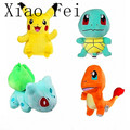 4pcs Pokemon Plush Toys Pikachu Bulbasaur Squirtle Charmander Toy Christmas Child Gift