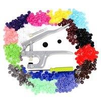 KAM Button Fastener Snap Pliers 150 Set T5 Plastic Resin Press Stud Cloth Diaper