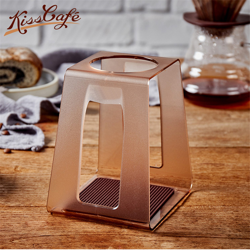 Coffee Filter Dripper Stand Household Drip Filter Frame Holder Acrylic Cup Bracket Rack Holder Set Cup StanderCoffee Filter Dripper Stand Household Drip Filter Frame Holder Acrylic Cup Bracket Rack Holder Set Cup Stander