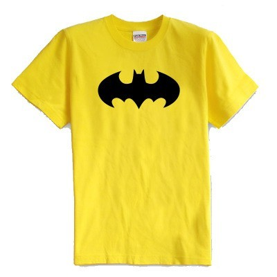 Children's T shirt summer short sleeve 100% cotton girl and boy kids t shirts Super batman cartoon