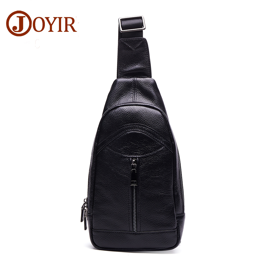 Famous 2017 New Fashion Genuine Leather Mens Chest Bag Chest Pack  Men Crossbody Male Shoulder Bags Luxury Messenger Bag feidikabolo famous brand theftproof magnetic button open leather mens chest bags fashion travel crossbody bag man messenger bag