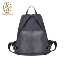 2016 New Patchwork Style Brand Designer 20-35L Canvas And PVC Backpacks Women Fashion Zipper School Bag Girls Mochila TK01998A